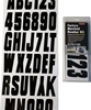 Hardline Factory Matched Number Kit BLK350EC