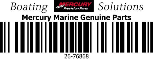 26-76868 Seal Prop Shaft Mercury OEM