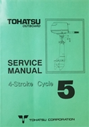003-21034-0 Shop Repair Manual Tohatsu 4-Stroke Outboards