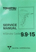 003-21041-0 Shop Repair Manual Tohatsu 4-Stroke Outboards