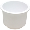 50-79490 Recessed White Drink Holder