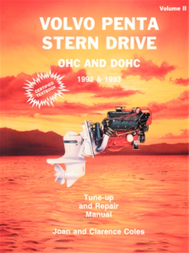 seloc s3602 1992 1993 volvo penta stern drive rh boatingsolutions com Volvo Penta Lower Unit 03 Volvo Penta 4.3