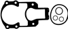 Sierra 18-2614 Outdrive Gasket Set New Style