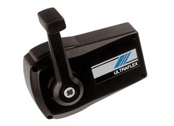B90 Single Lever Side Mount Control Black