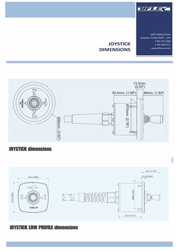 Trim Tab Joystick Single Station