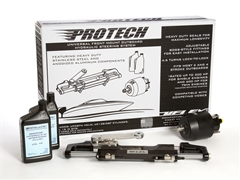 Protech 3 Front Mount Outboard Hydraulic Steering Package