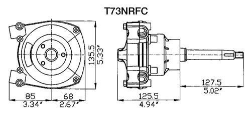 T73NRFC Specifications