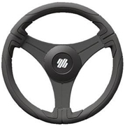 "Ustica B/B 21622X 13"" Black Grip Steering Wheel"