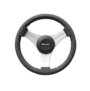 "Ustica B/S 20926X 13"" Black Grip Steering Wheel"