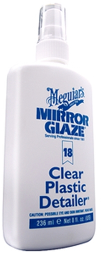Mirror Glaze M1808 Plastic Cleaner/Polish