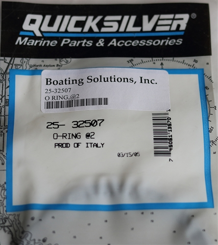 25-32507 O Ring Oil Filter Adapter Mercury OEM