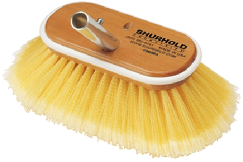 "955 Shurhold 6"" Medium Flared Brush - Yellow"