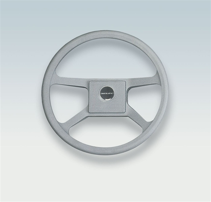 Ultraflex V33G 37495 J 4-Spoke Grey Steering Wheel